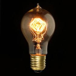 E27 40W A19 Filament Edison Incandescence Retro Lampa 220V