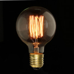 E27 40W G80 Ampul Filament Edison Incandescence Retro Lamp 220V
