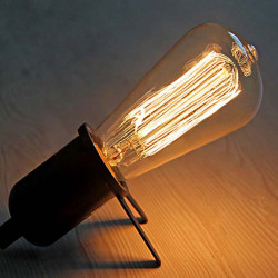 E27 40W Glühlampe 220V ST64 Retro Edison Glühlampe