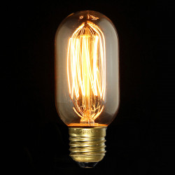 E27 40W Vintage antike Edison Glühlampe Klarglas 220V