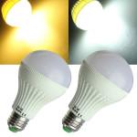 E27 4W LED Birne 24 SMD 5050 warmes Weiß / Weiß AC 110V Kugel Licht LED Lampen