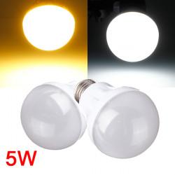 E27 5W 18LED 3014 SMD Kugel Birnen Licht Lampe weißes / warmes Weiß 220 240V