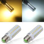E27 5W 36 SMD 5050 Vit / Varmvit LED Lampa AC 220V LED-lampor