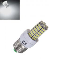E27 5W 700LM Pure Vit SMD 3528 SinglyFire LED-lampor 85-265V