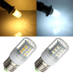 E27 5W LED Bulb 24 SMD 5730 White/Warm White Corn Light 220V