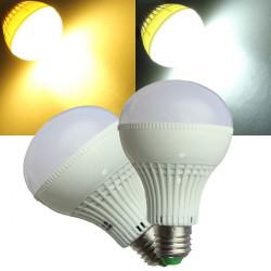 E27 5W LED Birne 30 SMD 5050 warmes Weiß / Weiß 220V AC Kugel Licht