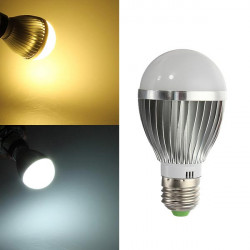 E27 5W LED Bulb Warm White/White AC110-240V LED Globe Light Bulb