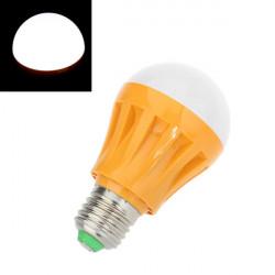 E27 5W LED Hvidt Lys Lampe Pære 18 SMD 3528 Globe Pærer AC 220V