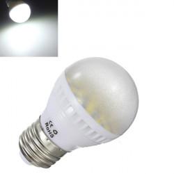 E27 5W Pure Vit 29 SMD 5050 LED Globe Ljus Lampa 110-240