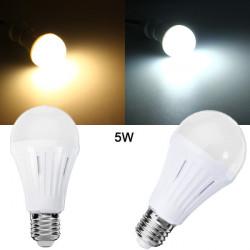E27 5W SMD 3024 Dimmbare warmes weißes / weißes LED Glühlampe AC 200 260V