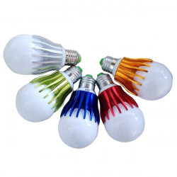 E27 5W SMD 5730 Pure White LED Light Bulb 85-265V