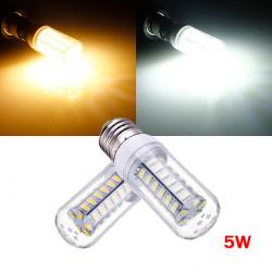 E27 5W Weiß / Warm White 5730 SMD 48 LED Mais Glühlampe 220V