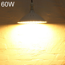 E27 60W SMD5730 220V 120LED High Power Varmvit / Vit LED-lampa