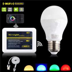 E27 6W RGBW 14 LED 450LM LED Spotlight Dimmable Bulb lamp 85-265V