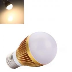 E27 6W Warm White Energy Saving LED Globe Light Lamp Bulb 110-240V