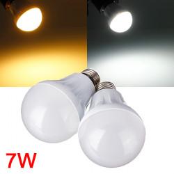 E27 7W 27LED 3014 SMD Globe Bulb Light Lamp White/Warm White 220-240V