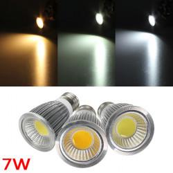 E27 7W 700 750LM Dimmbare COB LED Einbaustrahler Glühlampen AC 220 V