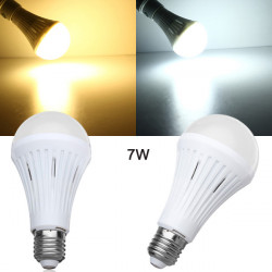 E27 7W SMD3024 Dæmpbar Varm Hvid / Hvid LED Lys Globe Pære 200-260V