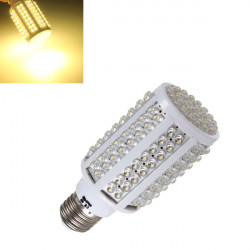 E27 8.3W Warm White 166 LED Corn Bulb Lamp Light 220V