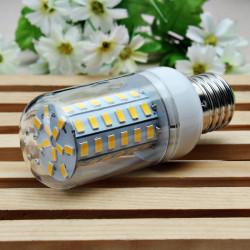 E27 8W 1300LM 60SMD 5730 LED Corn Light Bulb AC 110-130V