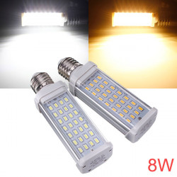 E27 8W Ultra Bright 28 SMD 5630 AC 85-265V LED Corn Pære