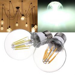 E27 8W Vit / Varmvit Glödlampor LED Retro Lampa 360 Graders 85-265V