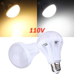 E27 9W 30 SMD 2835 Pure White/Warm White LED Globe Light Bulb 110V