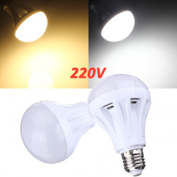 E27 9W 30 SMD 2835 Pure White/Warm White LED Globe Light Bulb 220V