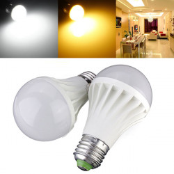E27 9W SMD 5730 800LM AC 85-260V White/Warm White LED Globe Light Bulb