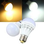 E27 energiesparende LED Birnen Licht Lampe 5W SMD 5630 weißes / warmes Weiß 220V AC LED Lampen