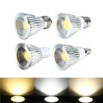 E27 / GU10 / E14 / B22 4W COB LED Dimmable Downlight Lampen Spotlight AC 85V 265V LED Lampen