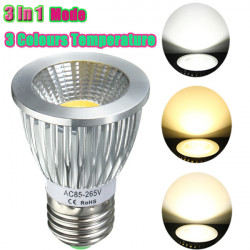 E27/GU10/E14/B22 8W COB LED Dimmable Downlight Bulbs Spotlight AC 85V-265V