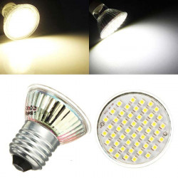 E27 LED Bulb 3W AC 220V 48 SMD 3528 White/Warm White Spot Light