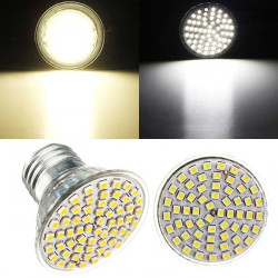 E27 LED Bulb 5W AC 220V 60 SMD 3528 White/Warm White Spot Light