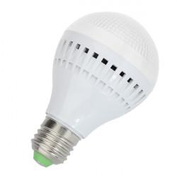 E27 LED-lampa 5W Vit 18 SMD 3528 Globe Ljus AC 220V