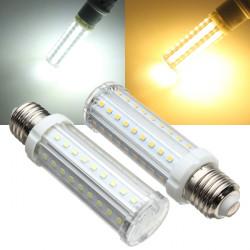 E27 LED-lampa 9W Vit / Varmvit 60 SMD 2835 Corn Lampa 110-240