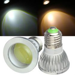 E27 LED Bulbs 3W COB AC 85-265V Warm White/White Spot Light