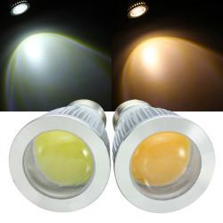 E27 LED Bulbs 7W COB AC 85-265V Warm White/White Spot Light