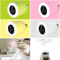 E27 LED Lampe Bluetooth 4.0 Musik Audiolautsprecher Birnen App Controller