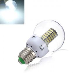 E27 LED Vit Lampor 5W 120 SMD 3528 LED-lampa AC 185-265V