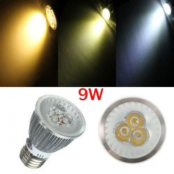 E27 PAR20 3LED 9W 520-560LM Non-dimmable Light Bulbs 60 Degree