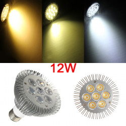 E27 PAR30 7LED 12W 900-1060LM Non-dimmable Light Bulbs 60 Degree