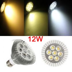 E27 PAR30 7 LEDs 12W 900 1060LM Nicht dimmbare Glühlampen AC 85 265V