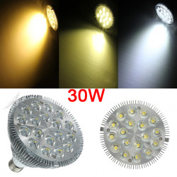 E27 PAR38 18LED 30W 1900-2020LM Non-dimmable Light Bulbs 120 Degree