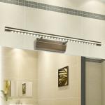 Europæiske Retro Bronze 5W LED Spejl Lys Hjem Badeværelse Væglampe Væglamper