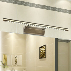 European Retro Bronze 5W LED Mirror Light Home Bathroom Wall Lamp