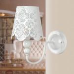 Mode Rustik Brief Ristade Vägglampa för Sovrum Aisle Lighting Vägglampor