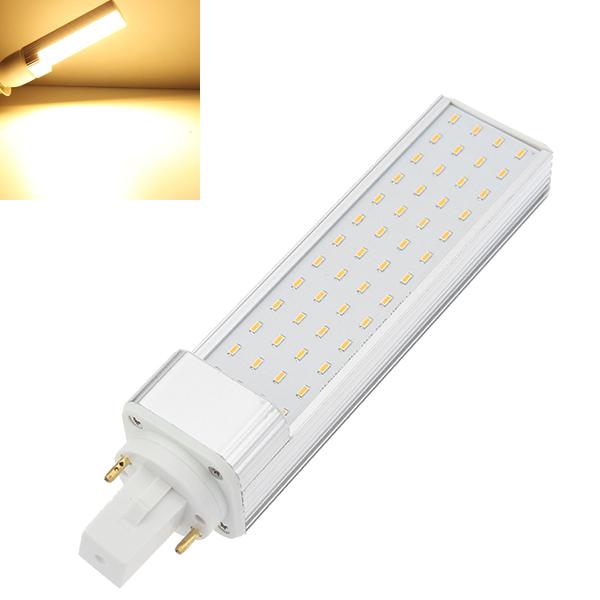 G24 10W 900-1168LM Warm White 52 SMD 3014 LED Lamp Bulbs AC 100-240V LED Light Bulbs