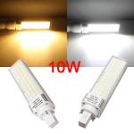 G24 10W Vit / Varmvit 56LED 2835 SMD 870-900LM Plug Ljus AC90-260V LED-lampor
