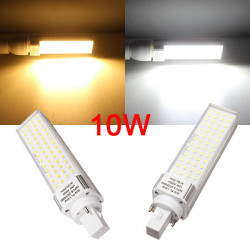 G24 10W White/Warm White 56LED 2835 SMD 870-900LM Plug Light AC90-260V